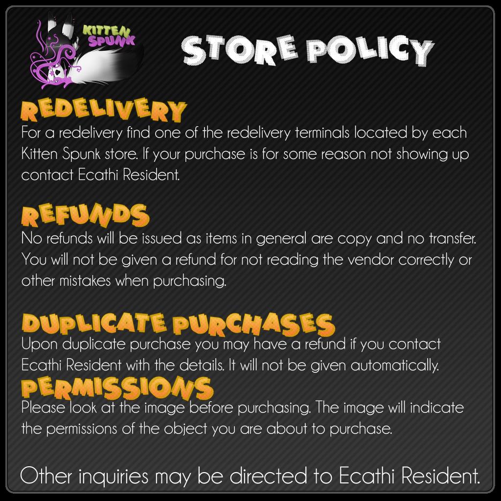 StorePolicy